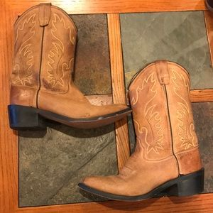 Old West Western Boots Size 7